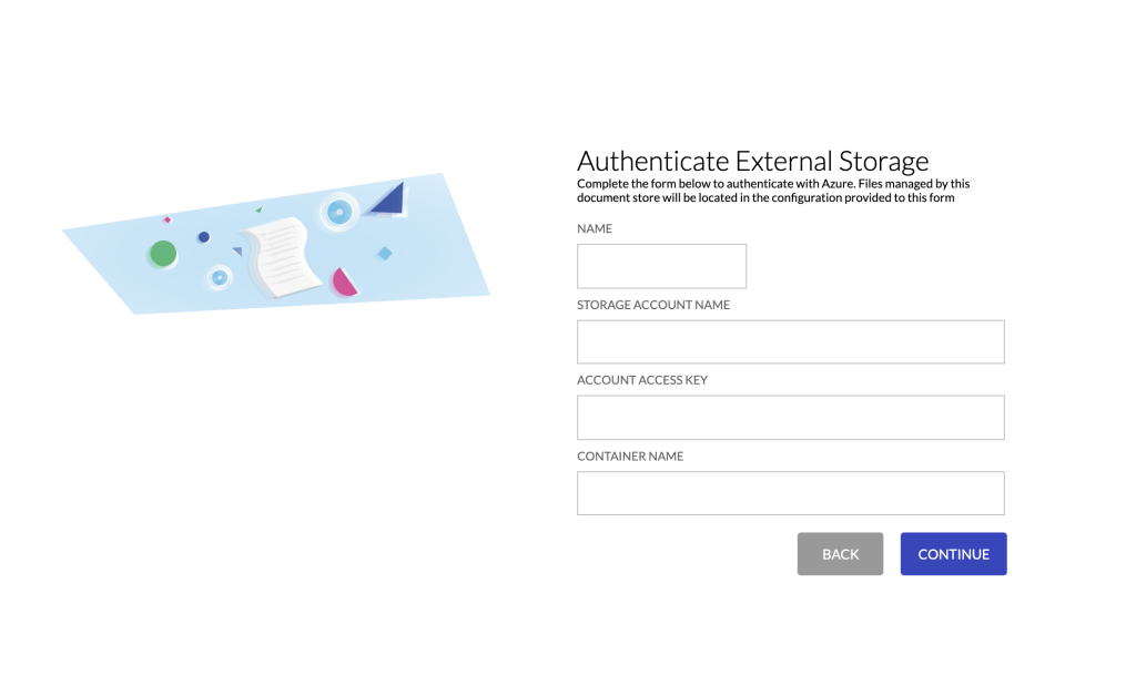 Configure Azure Storage Account